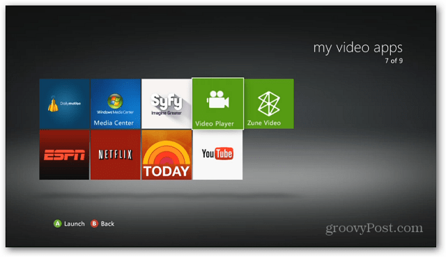 Xbox Video Player