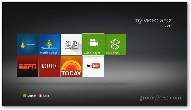 Xbox Video Player