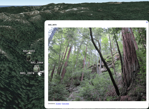 Geosetter Picture Viewing Google Earth