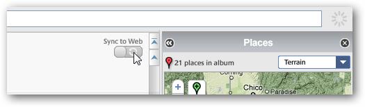 Picasa Places Upload