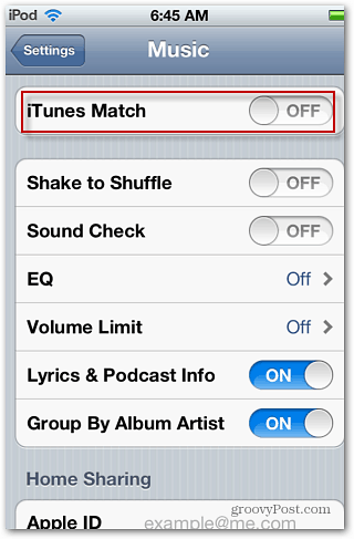 how to turn off icloud music library in itunes