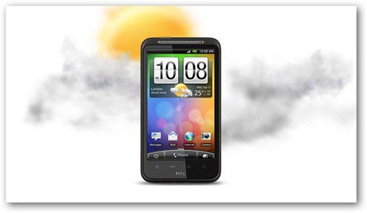 HTC Desire HD Gorilla Glass