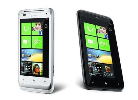 HTC Titan Windows Phone Mango
