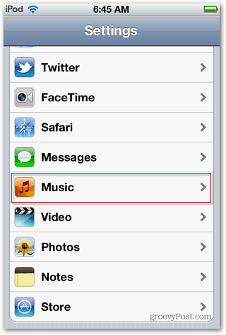idevice settings