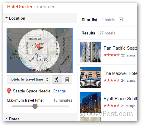 google hotel finder map expand