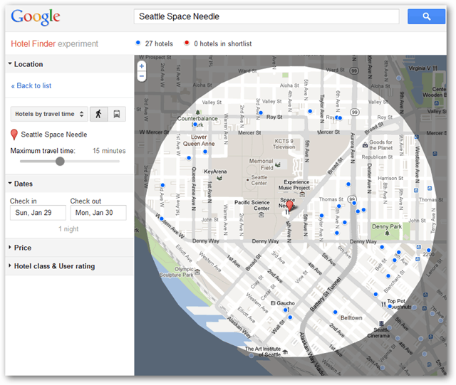google hotel finder map expanded
