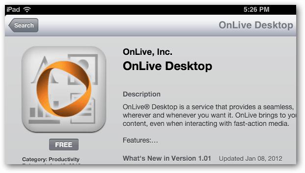 Download OnLive Desktop
