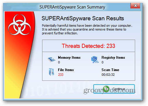 SuperAntiSpyware is an Awsome Anti-Malware Utility