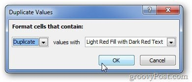 Excel Duplicate-8