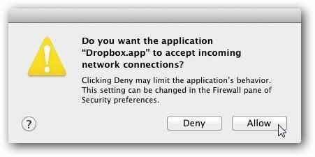 Firewall Message