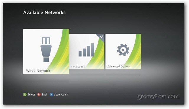 Network Connected