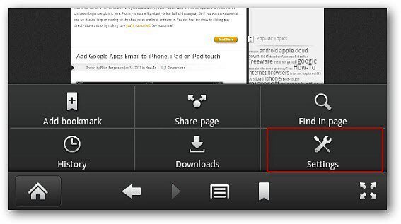 Make Webpages On the Kindle Fire Silk Browser Easier to Read