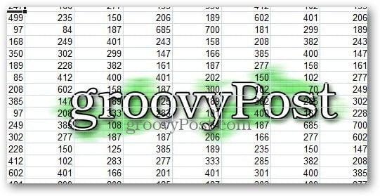 Watermark Excel 3