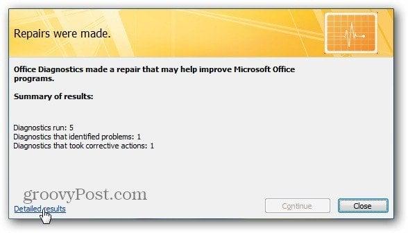 Microsoft Office: Diagnose Problems and Repair Programs that Crash