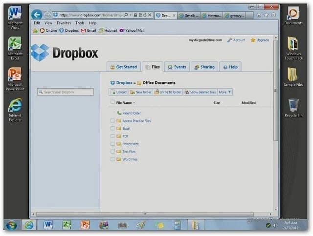 dropbox onlive desktop