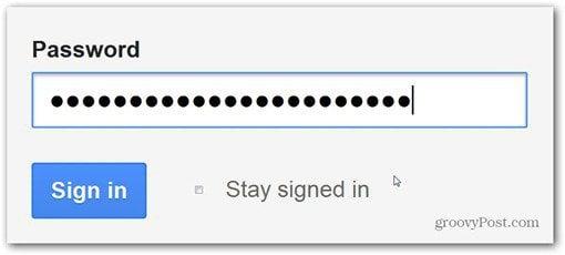 firefox set master password