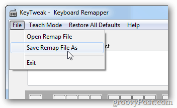 save multiple remaps of keyboard mappings
