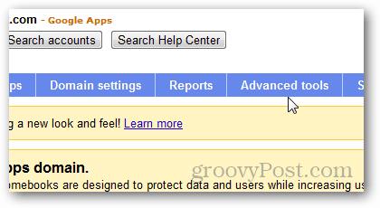Google apps advanced tools