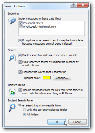 include folders