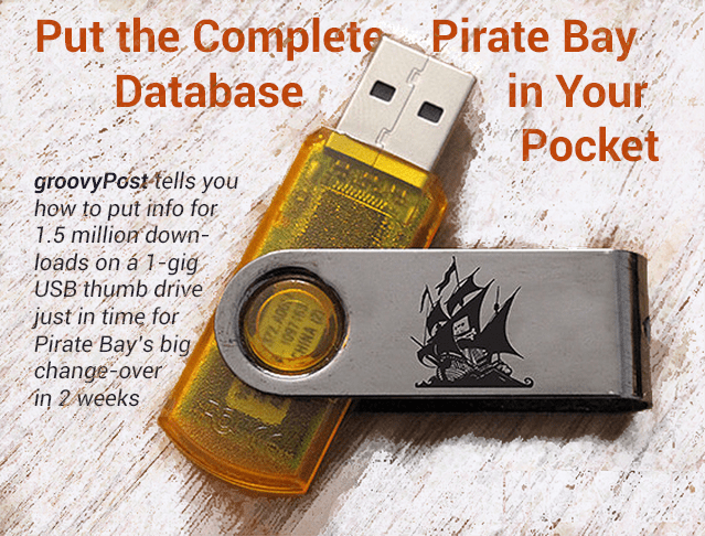 Pirate Bay Display Hed