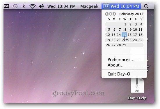 how to add a calendar to mac