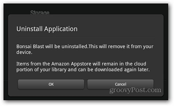 Two Ways To Uninstall Apps on Kindle Fire