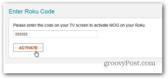 Activate MOG