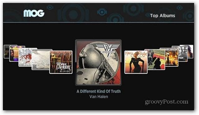 MOG Roku Top Albums