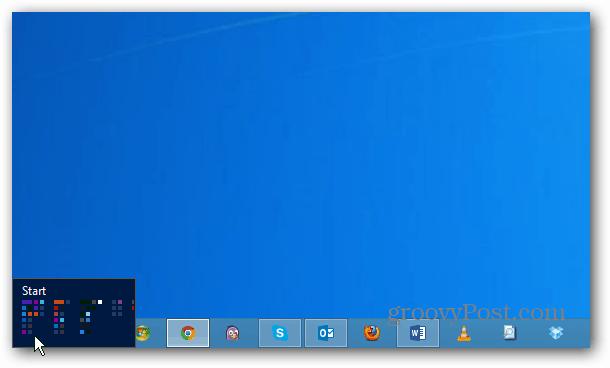 Start Tile Windows 8