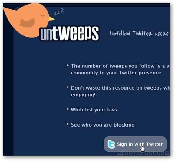 Unfollow Twitter Users 1