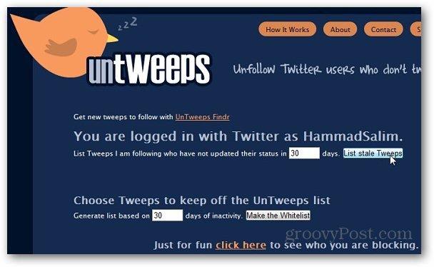 Unfollow Twitter Users 3