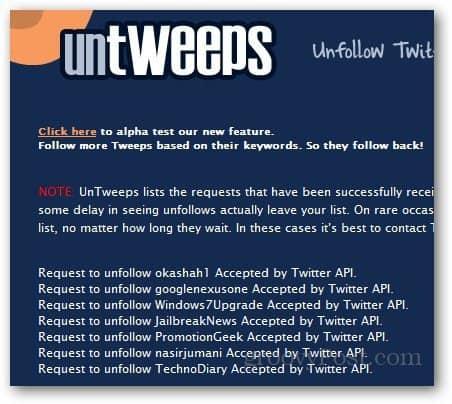 Unfollow Twitter Users 5