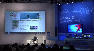 Windows 8 Keynote MWC 2012