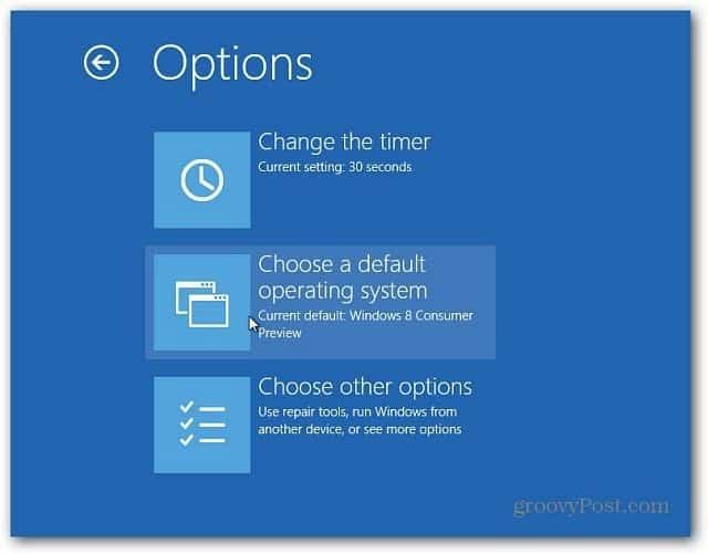 chose default OS