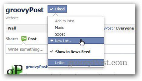 facebook pages list new list