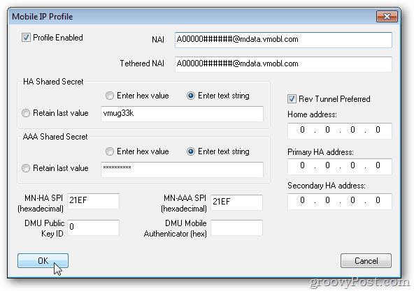 programming epic mobile ip profiles