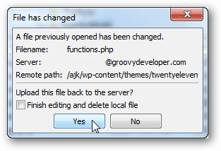 reupload functions.php