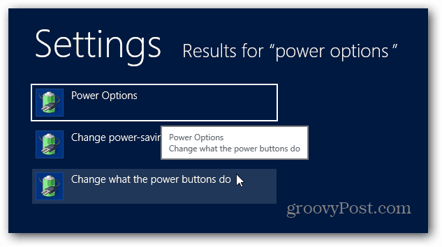 Change What Power Buttons Do