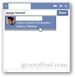 Facebook Chat 3