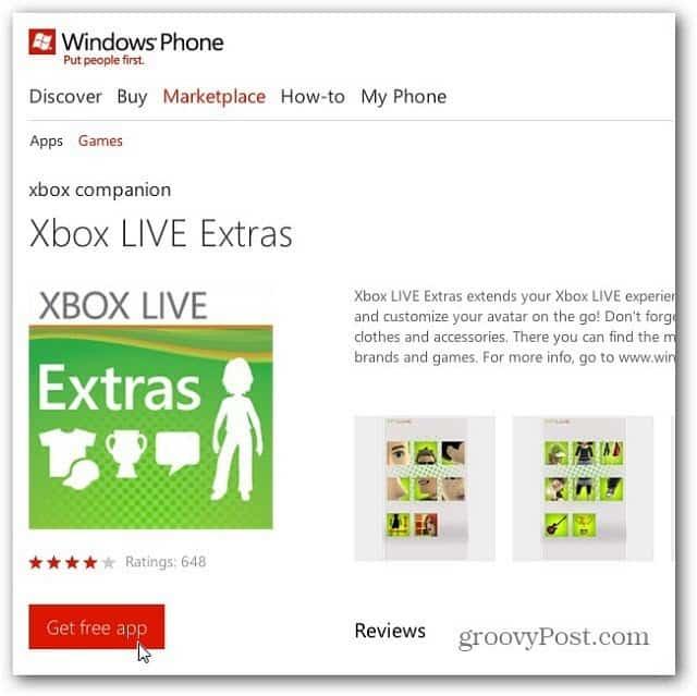 Get Xbox Extras