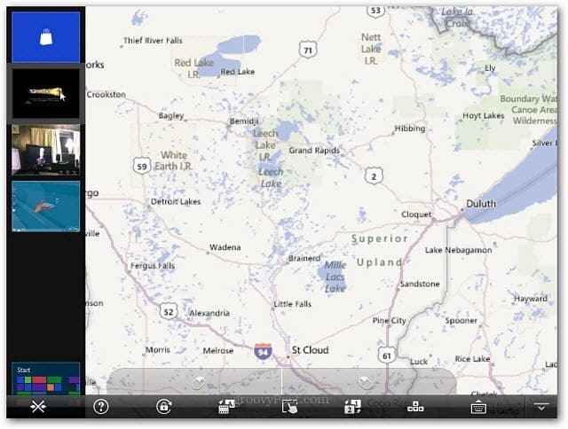 Maps Metro Splashtop