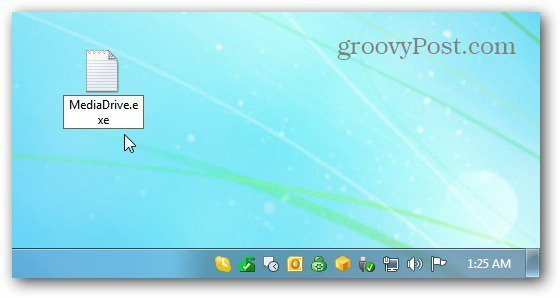 Name Text File to Executable