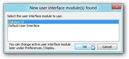 Select Columns UI