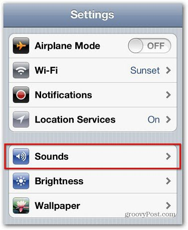 Adjust All iOS System Sounds With Volume Rocker
