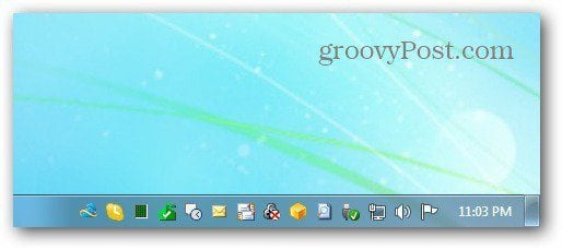 SkyDrive Taskbar