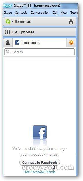 Skype Facebook 1