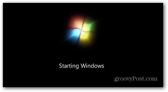 Windows Boot Screen