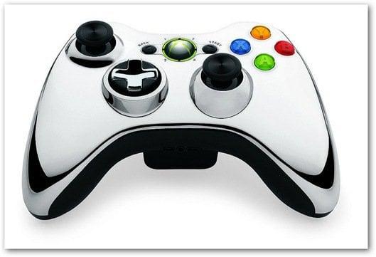 Xbox 360 chrome controller chrome