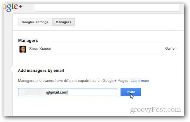 how to add video to google plus page