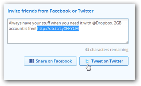 Dropbox Referral Links